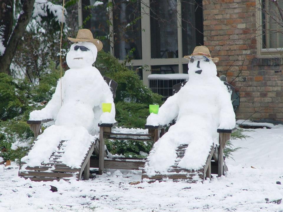 картинки забавные снеговики