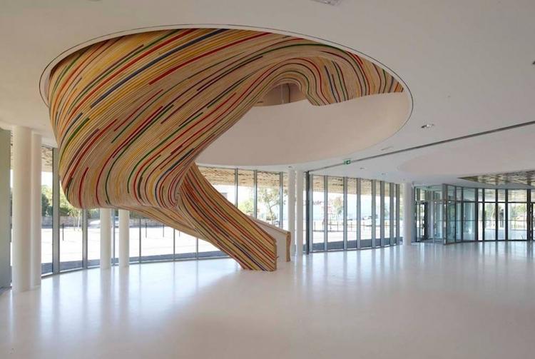 Необыкновенные дизайнерские лестницы