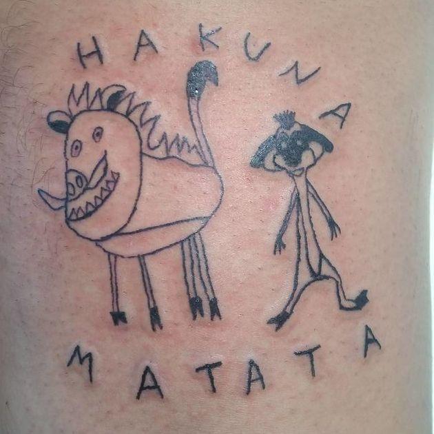 «Отстойные татуировки» принесли признание художнице (20 фото)