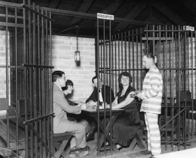 Кафе в Лос-Анджелесе, 1920-е.