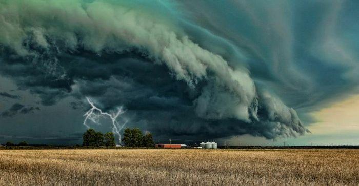 Безумно красивые фотографии непогоды (40 фото)