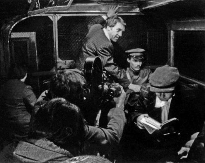 фильм, СССР, съемочная площадка