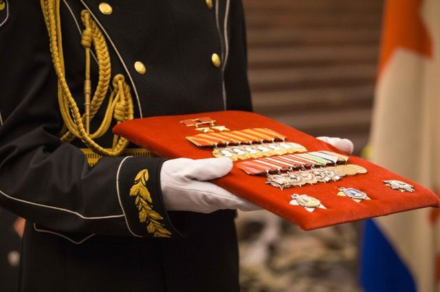 Родные адмирала Горшкова передали Музею Победы вознаграждения на 2 миллионов $ (4 фото)
