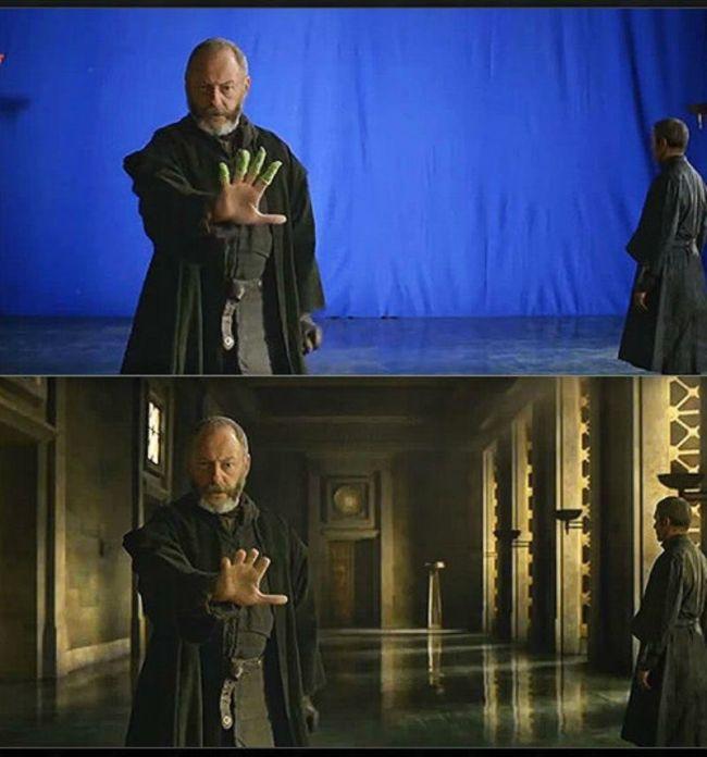 Редкие снимки со сьемочной площадки «Игры престолов»