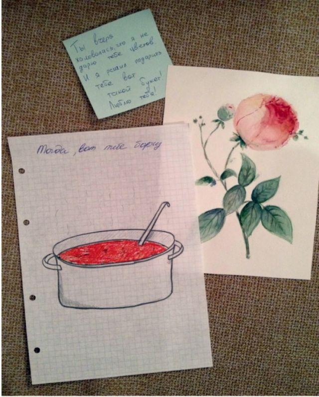 Мгновенные дамские объявления и записки (17 фото)