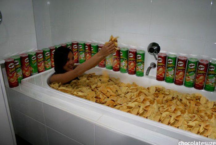 Мыться в ванной