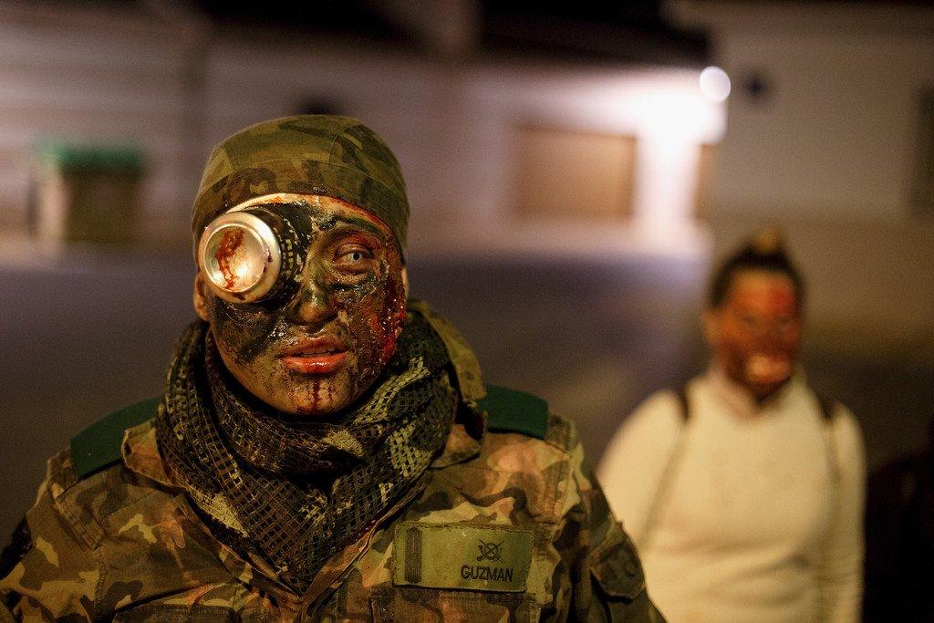 Zombie Survival contest