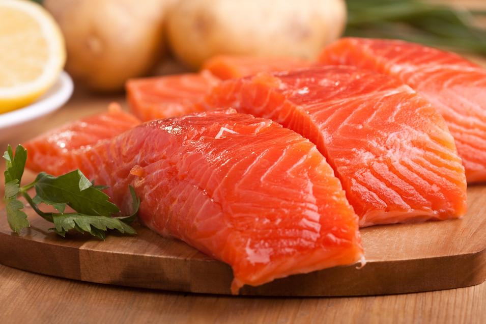 3. Жирная рыба.
