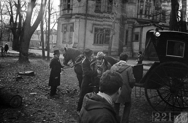 Редчайшие фотографии со съемочных площадок русских кинолент (15 фото)
