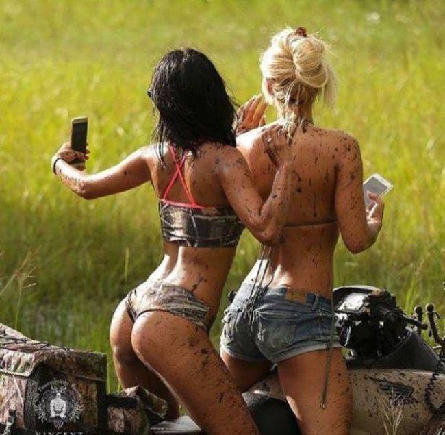 Забавные и заводные эти девушки. (56 фото)