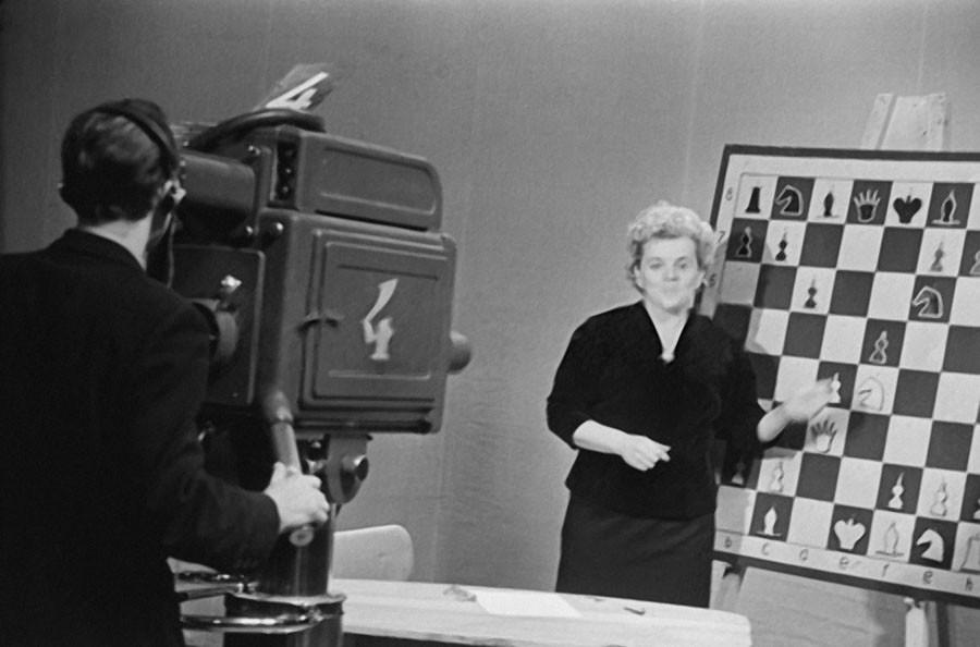 Запись телепередачи о шахматах