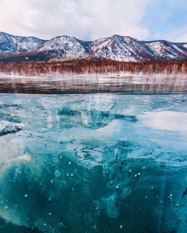 Байкал зимой (21 фотография)
