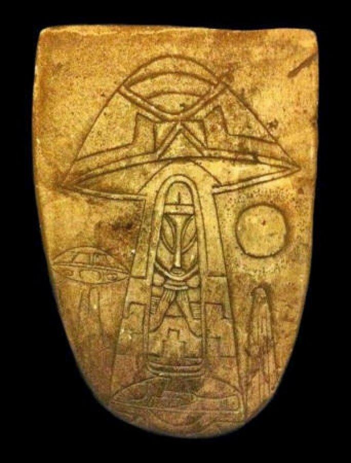 Древнейшие артефакты мексиканского палеоконтакта