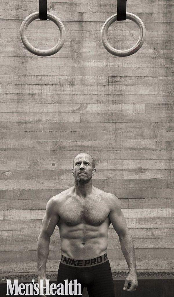 Фотосессия Джейсон Стейтем, для журнала Men's Health (8 фото)