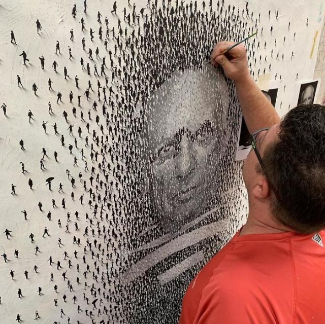 Необыкновенное художество Крейга Алана (23 фотокартины)
