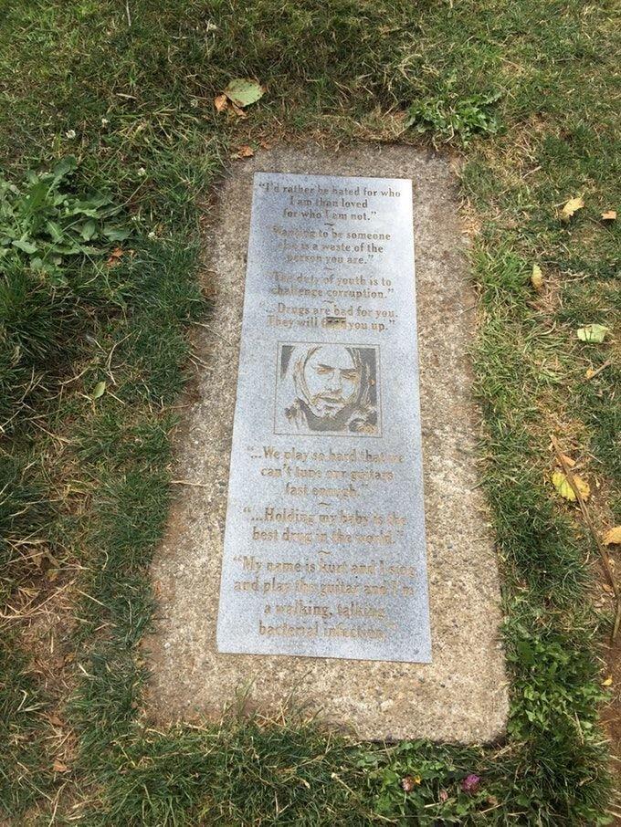 Курт Кобейн жизнь, звезды, кладбище, могилы, музыканты, похоронены