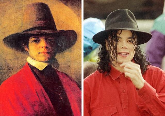 Двойники знаменитых людей (12 фото)
