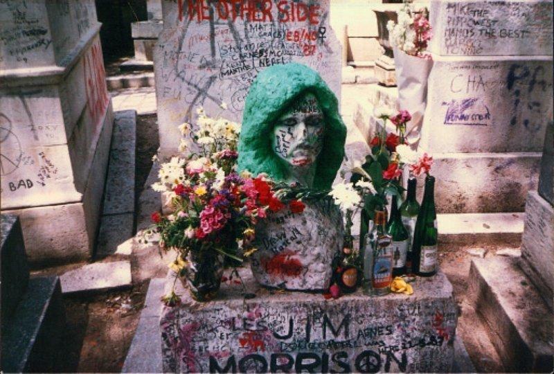 Джим Моррисон жизнь, звезды, кладбище, могилы, музыканты, похоронены