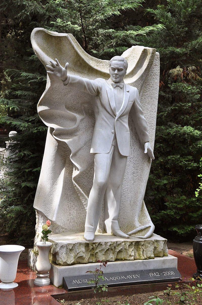 Муслим Магомаев жизнь, звезды, кладбище, могилы, музыканты, похоронены