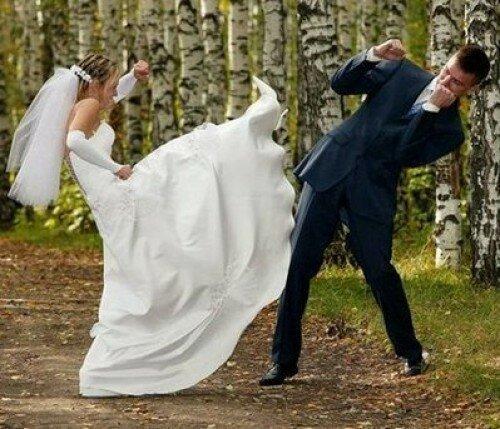Свадебные фотографии, которые точно не попадут в альбом