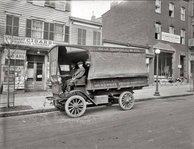 Грузовик O.J. DeMoll Co., Вашингтон, округ Колумбия, 1920 год