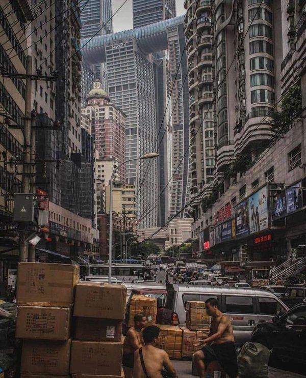 Архитектура китайского города Чунцин