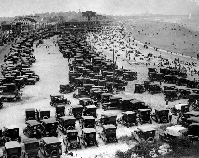 Nantasket Beach, Халл, штат Массачусетс, 1920-е годы.