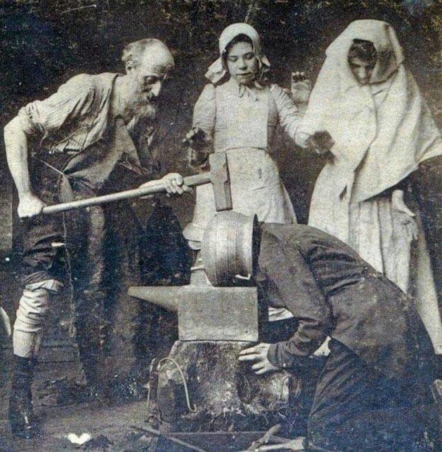 """""""Кодирование от пьянства"""". 1900 г."""