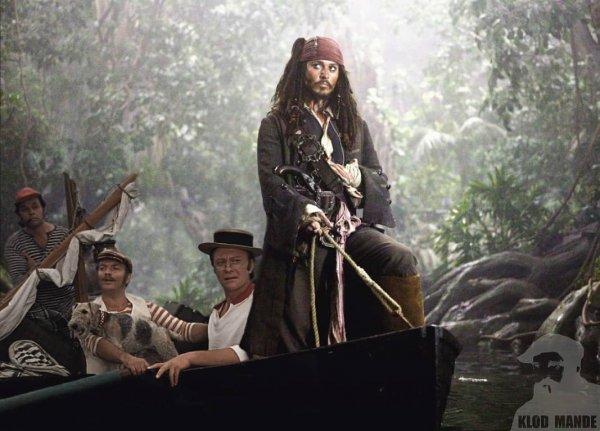 «Пираты Карибского моря» и «Трое в лодке, не считая собаки».