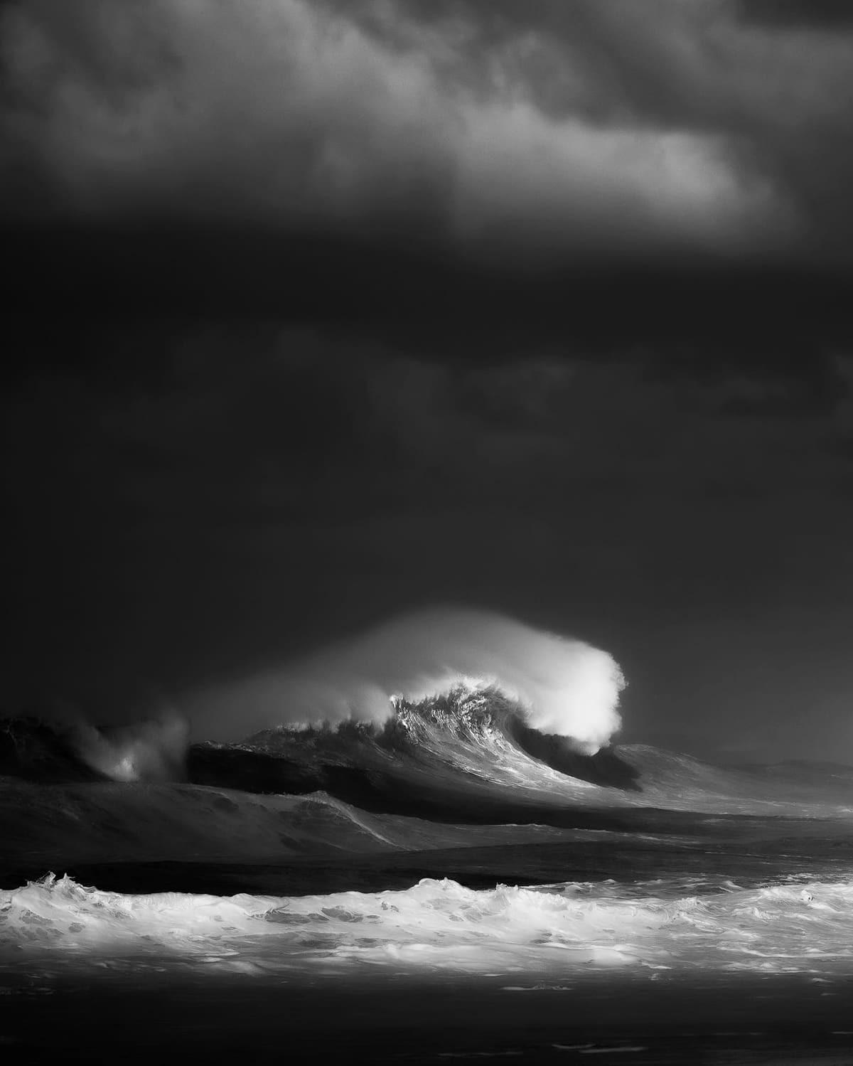 Снимки морских волн от голландского фотографа