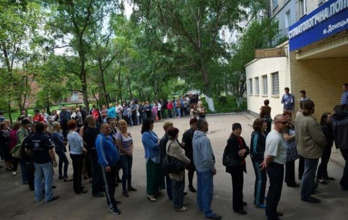 Референдум на Украине (23 фото)