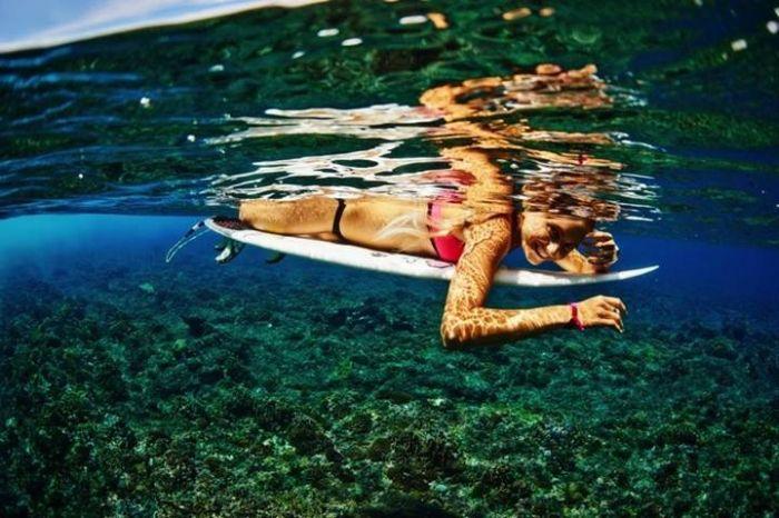Алана Бланчард - профессиональная серфингистка (40 фото)