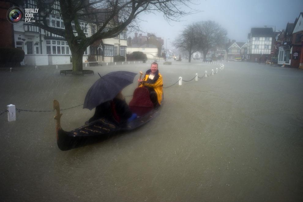 В Британии произошло наводнение