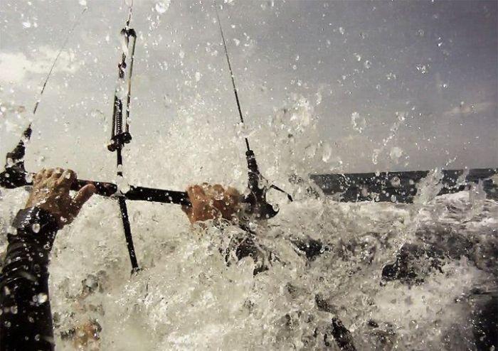 Крутые экстрим-фотографии, снятые на камеру в нужный момент (45 фото)