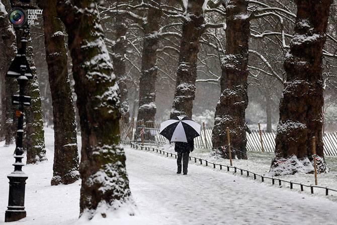 Снегопады в Европе (26 фото)