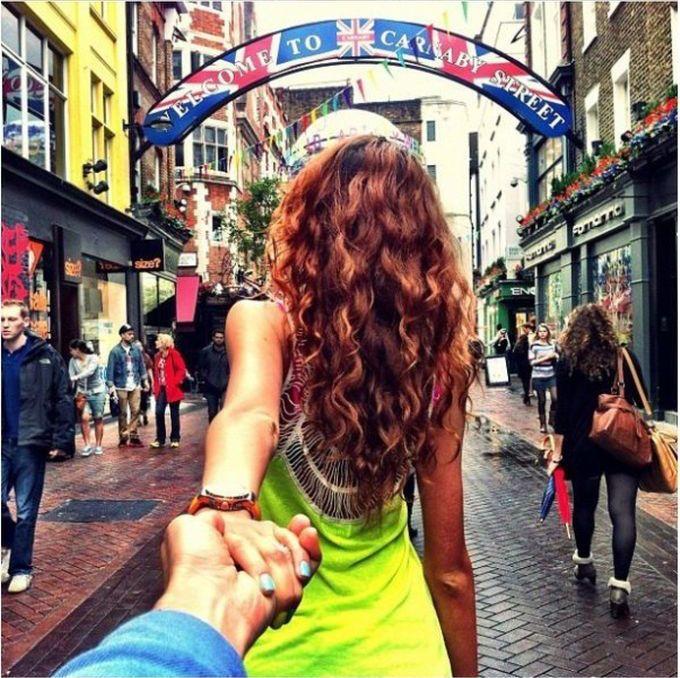 Возьми меня за руку, следуй за мной