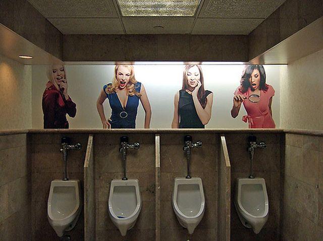 Живой туалет в офисе