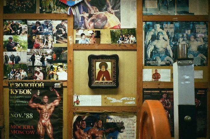 """Московские подвальные """"качалки"""" (32 фото)"""