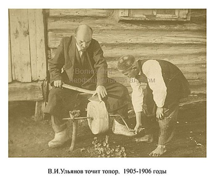 Родной брат-близнец Владимира Ульянова Ленина (22 фото)