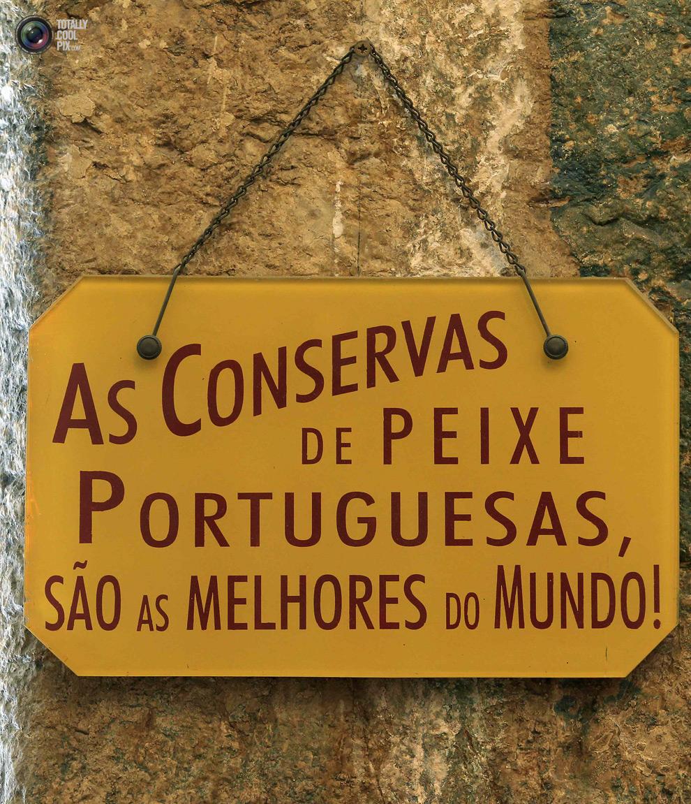 Очень любят свою рыбу Португальцы.