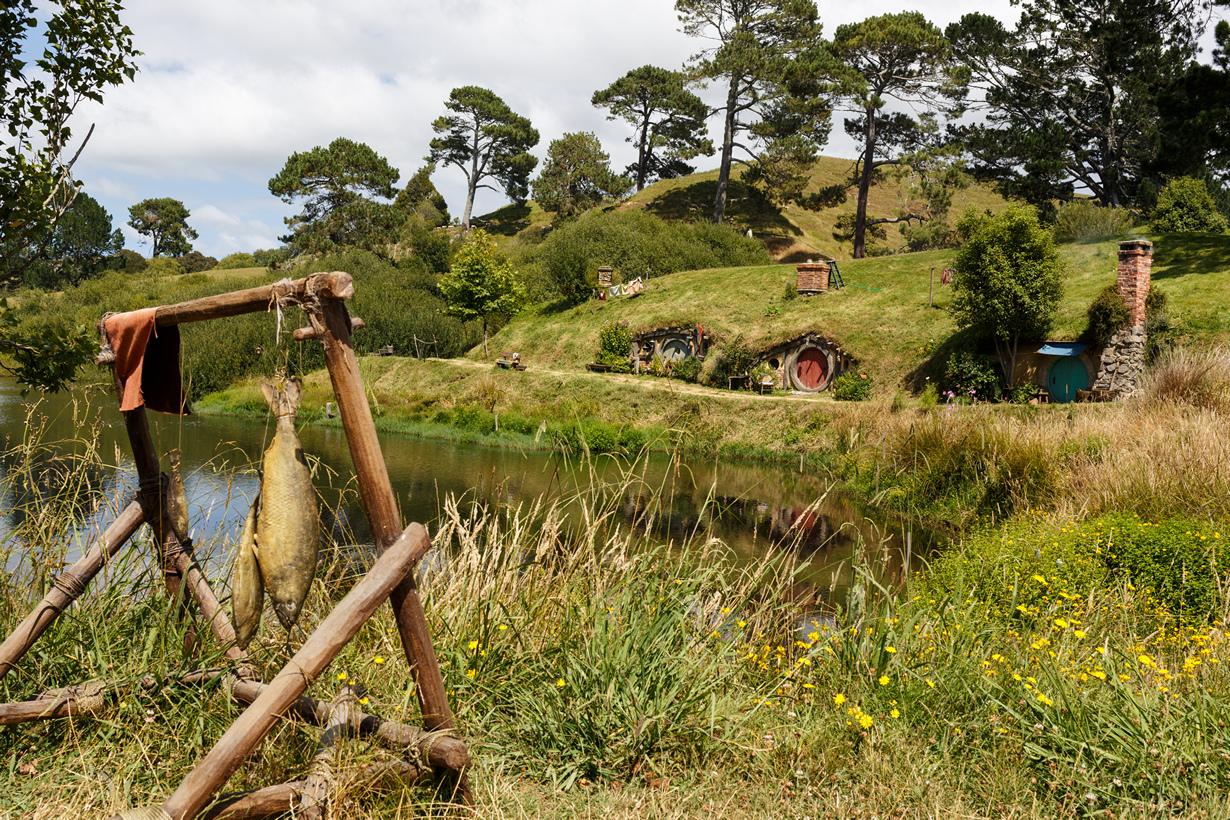 Новая Зеландия. Матамата. Хоббитон. (Florian Bugiel)