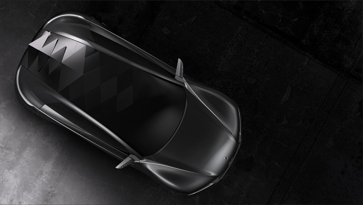 Citroën Divine DS Concept. (PSA Peugeot Citroën)