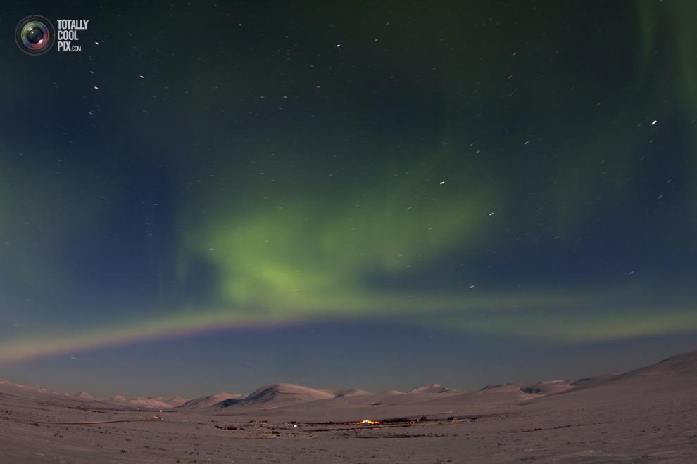 Удивительнейшие снимки полярного северного сияния
