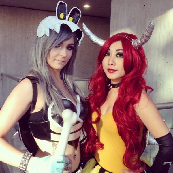 Любительницы косплея на фестивале New York City Comic Con 2014 (73 фото)