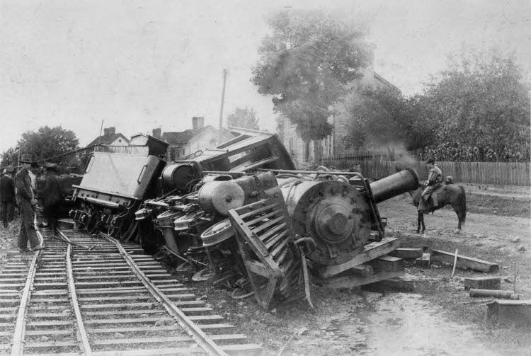 Подборка ретро черно-белых аварий