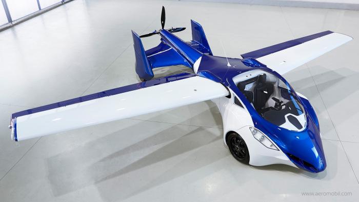 В 2017 году начнется серийное производство летающих автомобилей (9 фото)