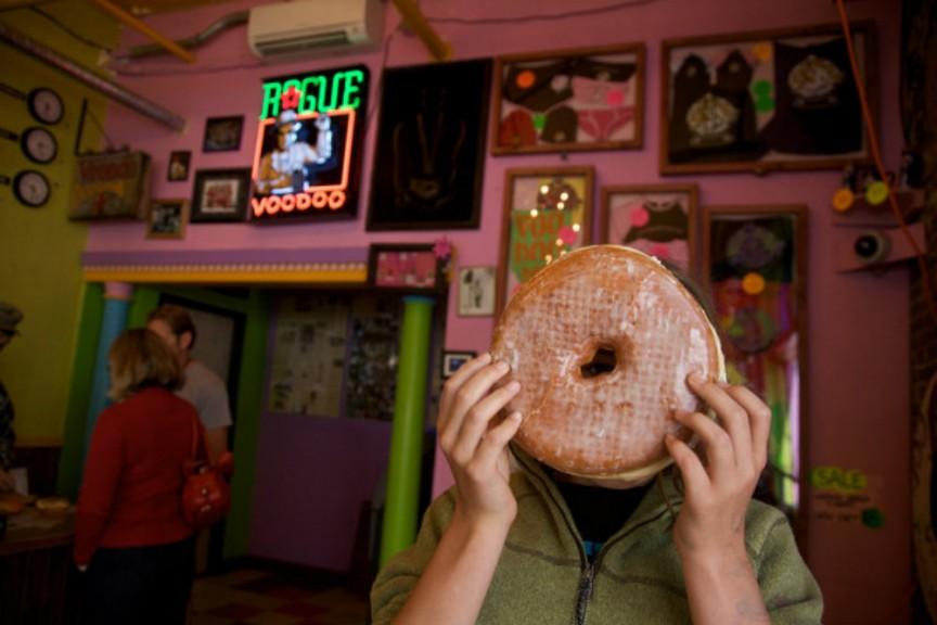 Фото Конкурс пончиков вуду