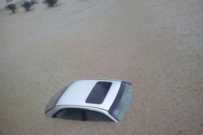 Из-за сильного ливня в Сочи произошло наводнение (47 фото + видео)