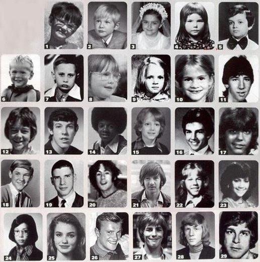 В детстве и молодости, политики и известные люди. Фото. - 1