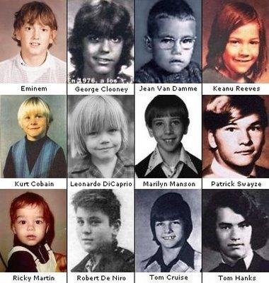 В детстве и молодости, политики и известные люди. Фото. - 4